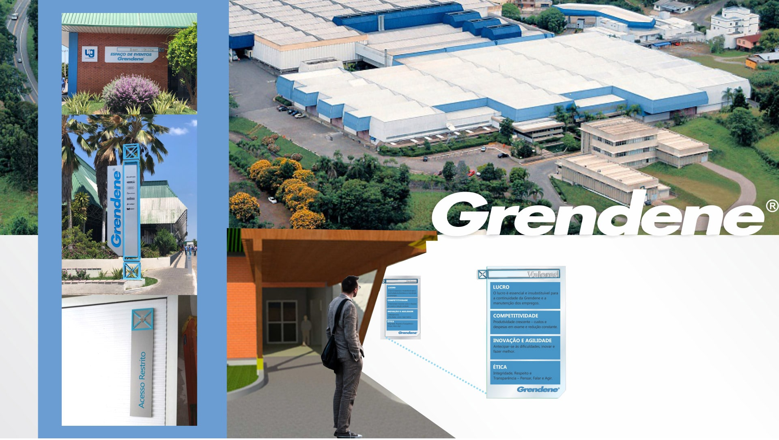 MLMS Sinalização Arquitetônica - Grendene