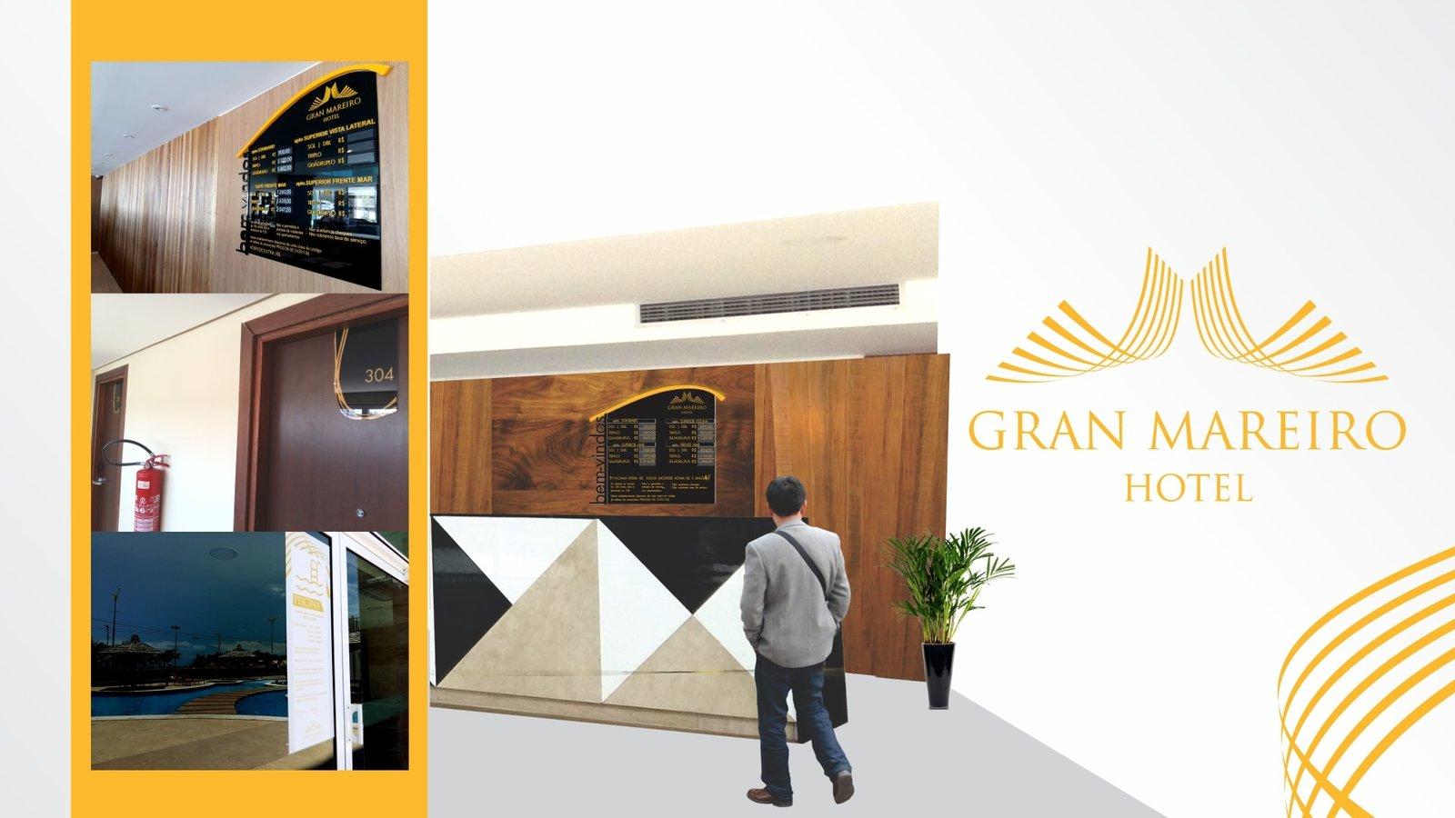 MLMS Sinalização Arquitetônica - Gran Mareiro Hotel