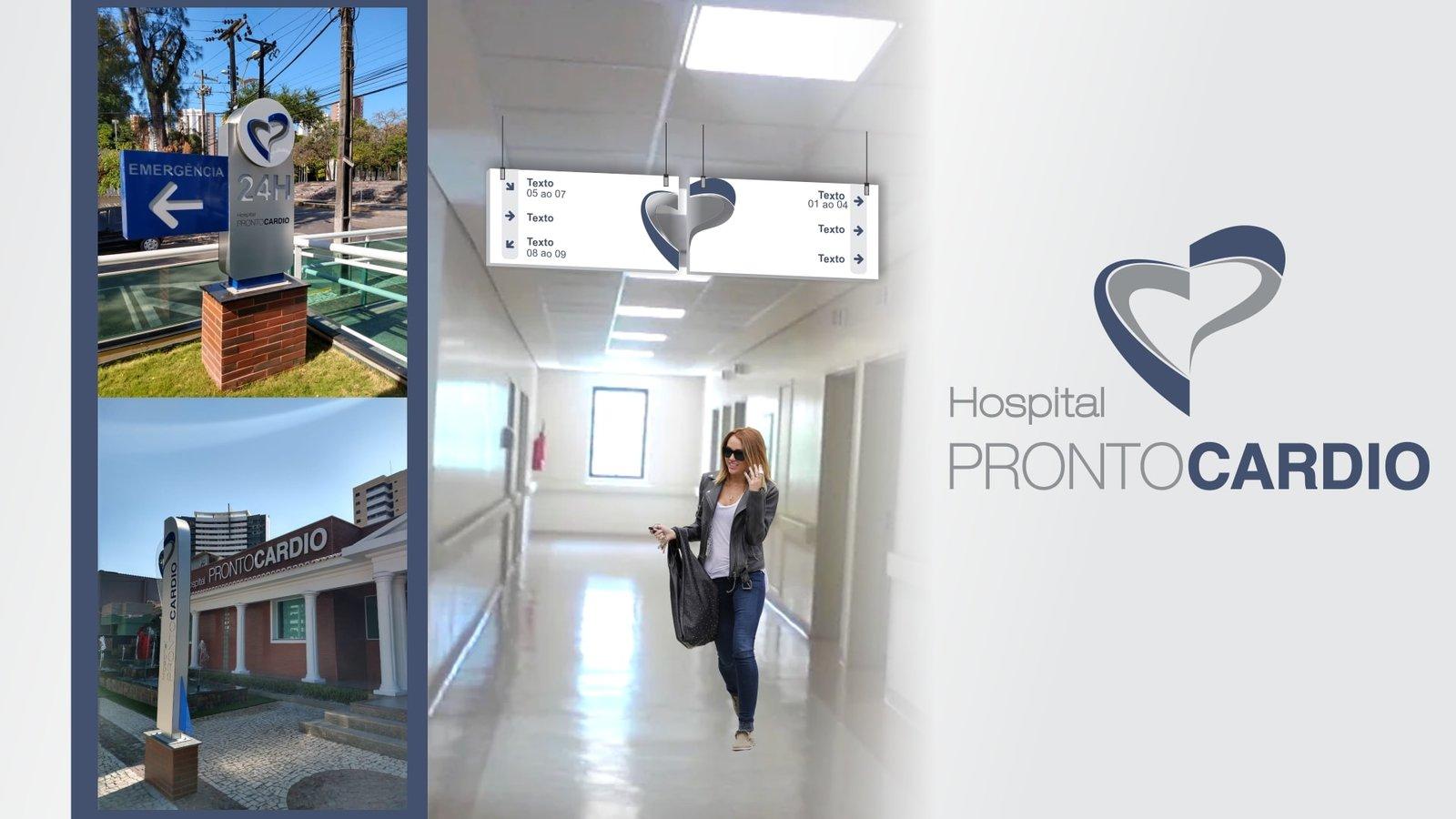 MLMS Sinalização Arquitetônica - Hospital PRONTOCARDIO